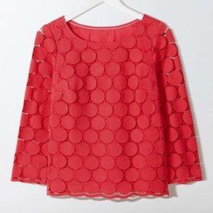 Boden Arabella Lace Blouse Size 18